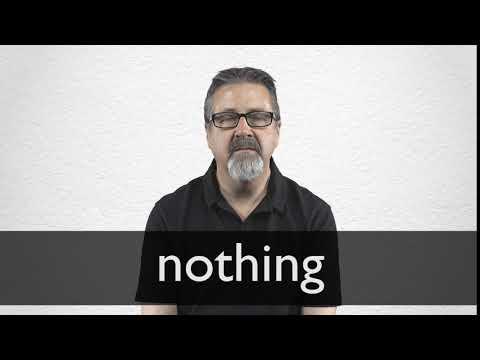 "Hindi Translation of ""nothing"" | Collins English-Hindi"