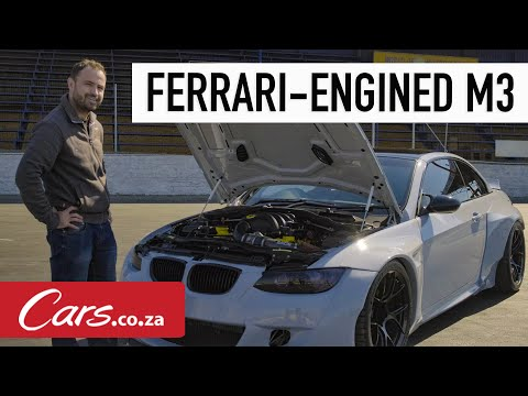 Ferrari-Engined BMW M3 - We drive this V8, manual, naturally aspirated one-off marvel
