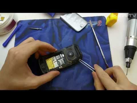 Samsung SOLID C3350 - wymiana wyświetlacza - LCD repair - disassembly