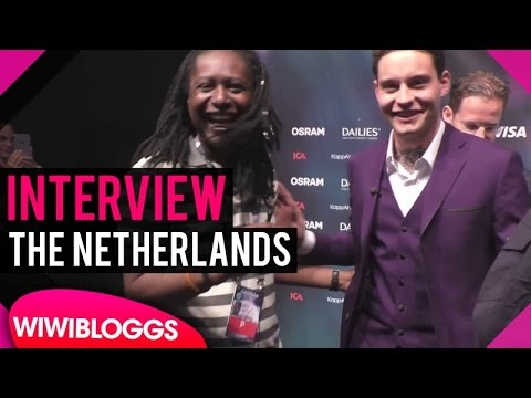 Douwe Bob The Netherlands @ Eurovision 2016 - interview | wiwibloggs