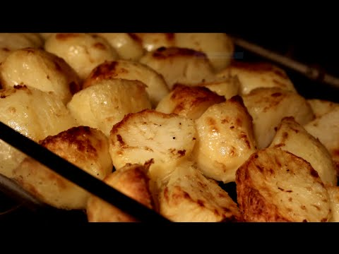 Roast potatoes the HEALTHY way