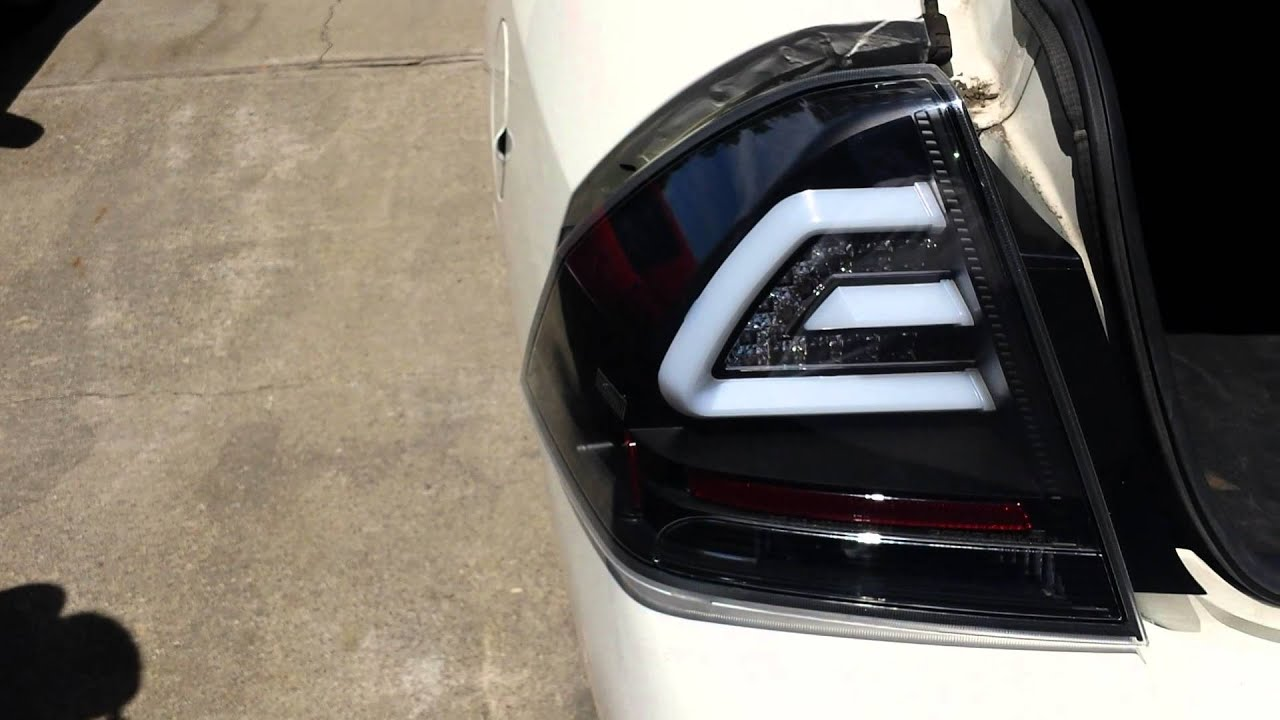 2007 Chevrolet Impala Syder Led Taillights