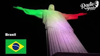 Así Celebran otros Países a México pintando sus monumentos de verde blanco y rojo.