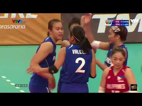 Vietnam vs Philippines | Bronze Medal | 27 August 2017 | Volleyball Women