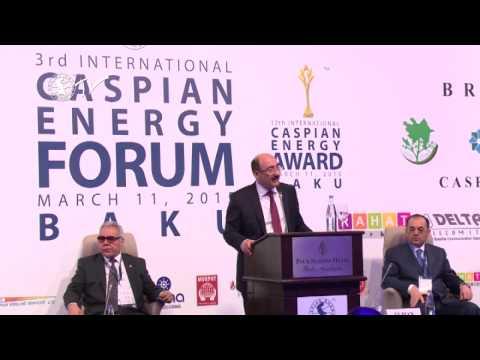 Абульфаз Гараев - Caspian Energy Forum - Baku 2015-rus