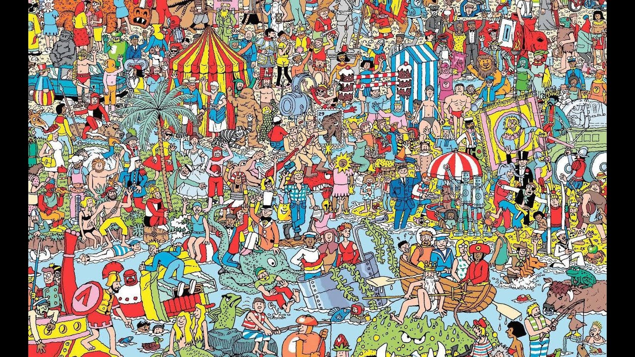 Image result for wheres waldo