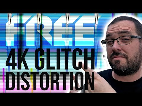 Free 4K Glitch and Distortion Effects for Adobe Premiere Pro