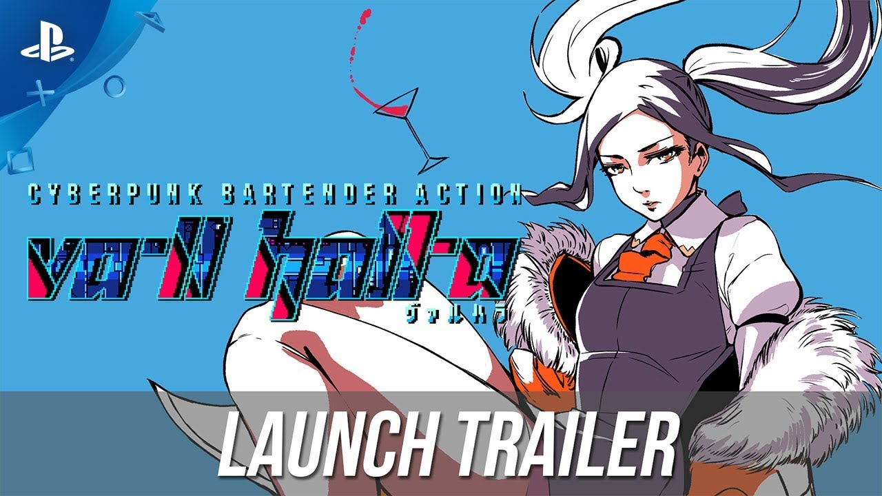 VA-11 Hall-A: Cyberpunk Bartender Action - Launch Trailer | PS4