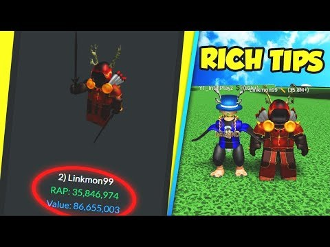 THE RICHEST PLAYER ON ROBLOX REVEALS HOW TO GET RICH!