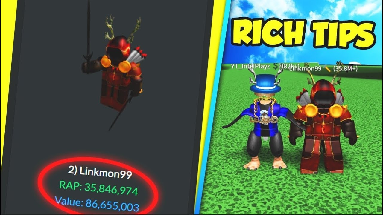 how to become rich on roblox