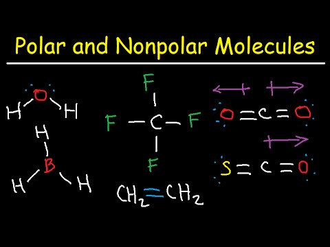 Polar And Nonpolar Molecules How To Tell If A Molecule Is Or