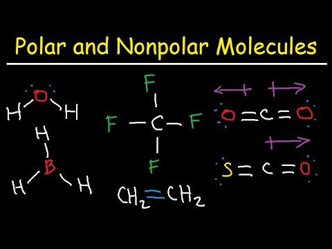Polar and NonPolar Molecules How To Tell If a Molecule is Polar or