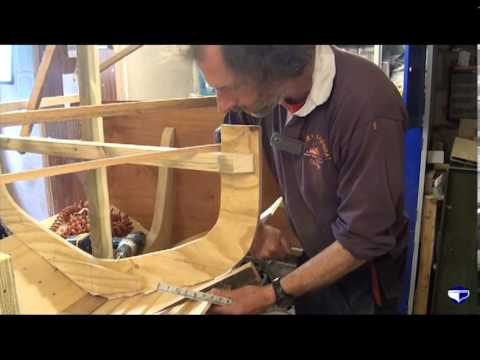 Fitting planks on a clinker vessel (small boats) - Part 2