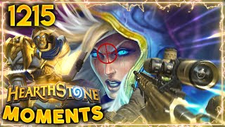 SNIPING Mages With OTK Combos | Hearthstone Daily Moments Ep.1215