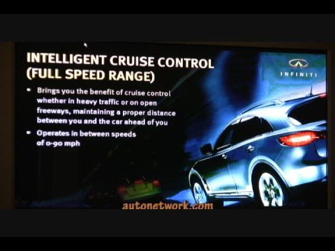 Technology & Safety, Infiniti Full Line 2009