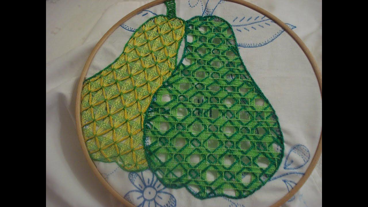 puntadas de servilletas