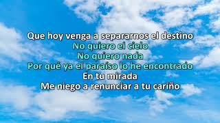 Download De Qué Me Sirve el Cielo Omar Chaparro Karaoke para rango vocal bajo