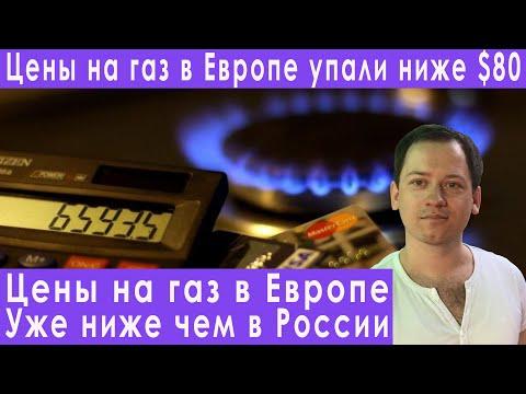 Цены на газ в Европе уже ниже чем в России прогноз курса доллара евро рубля на апрель 2020