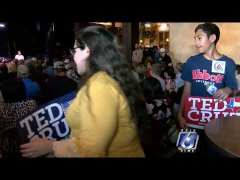 Ted Cruz Campaigns In Corpus Christi
