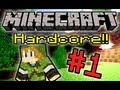 Minecraft HC! - Part 1 (Ft. JonTron + The Completionist)