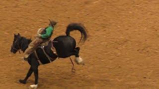 Ranch Bronc Riding - 2018 WRCA World Championship Ranch Rodeo