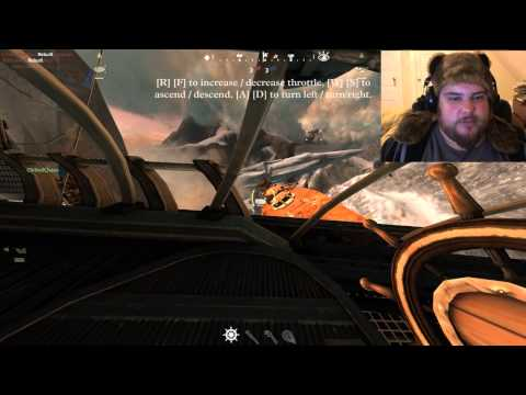 DEFLATING!- Guns of Icarus w/ Face Cam  