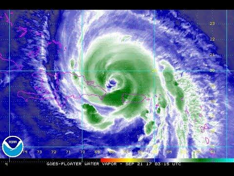HURRICANE MARIA BACK IN OPEN WATERS WARNINGS TURKS CAICOS NE DOMINICAN REPUBLIC