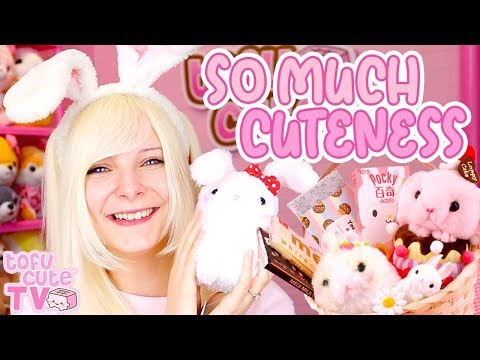 Kawaii Bunny Haul + GIVEAWAY ♡ Easter Bunnies From AMUSE | TOFU CUTE TV