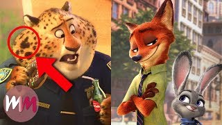 Top 10 Zootopia Easter Eggs You Missed