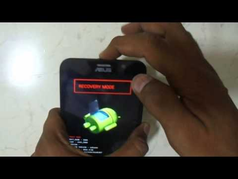 ASUS ZENFONE 2 Z008D Eazy Hard Reset And Pattern Reset   Youtube