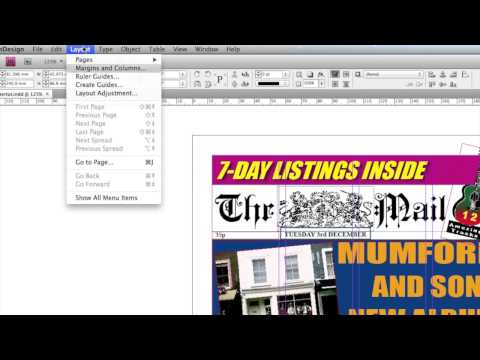 InDesign Newspaper Tutorial