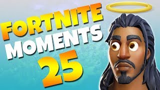 THE LUCKIEST GRENADE YOU'LL EVER SEE!! | Fortnite Daily Funny and WTF Moments Ep. 25