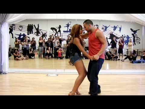 www.QueRicoDance.com Jorge Contreras & Serena Cuevas Toby Love Casi Casi