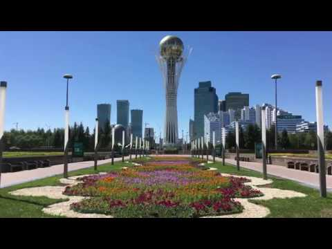 Kazakhstan Astana City Tour 4k