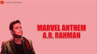 marvel-anthem---a-r-rahman