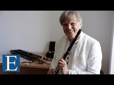 Masterclass Jacques Zoon Flauta Enescu Cantabile et Presto