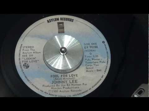 JOHNNY LEE - Fool For Love - 1980 - ASYLUM RECORDS