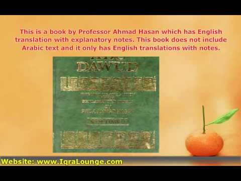 Free Islamic Books : Sunan Abu-Dawud (3 Vol. Set - English O