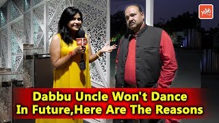 Dabbu Uncle Sanjeev Srivastava Interview In Hyderabad | Dance Performance in Hyd | YOYO TV Hindi