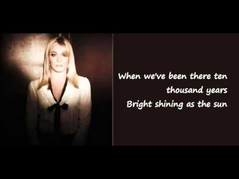 Amazing Grace   LeAnn Rimes Lyrics on Screen