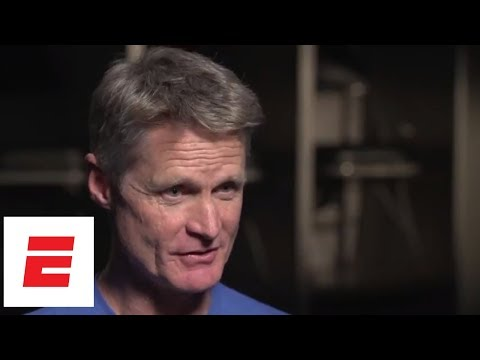 Full  Rachel Nichols sits down with Steve Kerr ahead of the NBA Finals  ESPN
