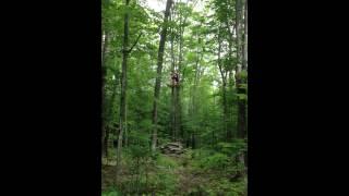 Tree Top Trekking, Huntsville - Ziplining with Mandy