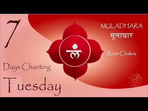 MULADHARA मूलाधार - LAM Chanting - Root Chakra - 7 Days Mantra Chanting