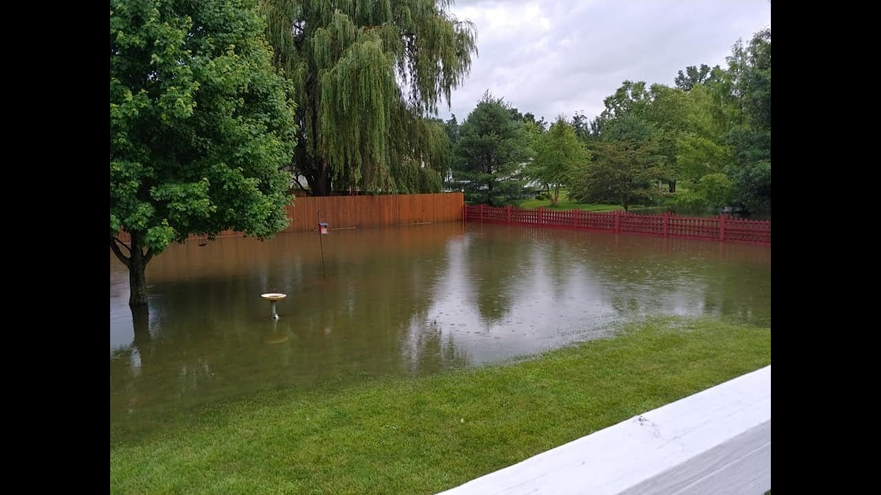 Heavy rains bring flash flooding to Licking County ...