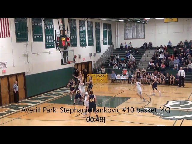 Crazy final 2 minutes of Girls': Averill Park 56 vs Shenendehowa 57 (F)