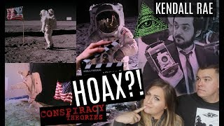 MOON LANDING FAKED?! Conspiracy Theory Hoax
