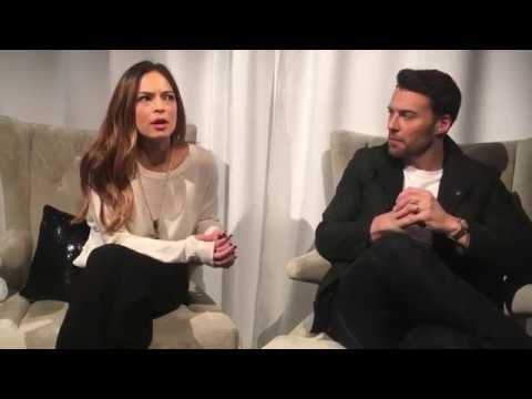 Real Style s Kristin Kreuk and Peter Mooney Of Burden Of Proof