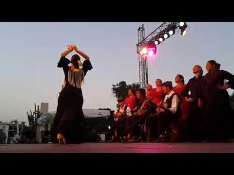 flamenco fusion performance at Ghanafest in Malta
