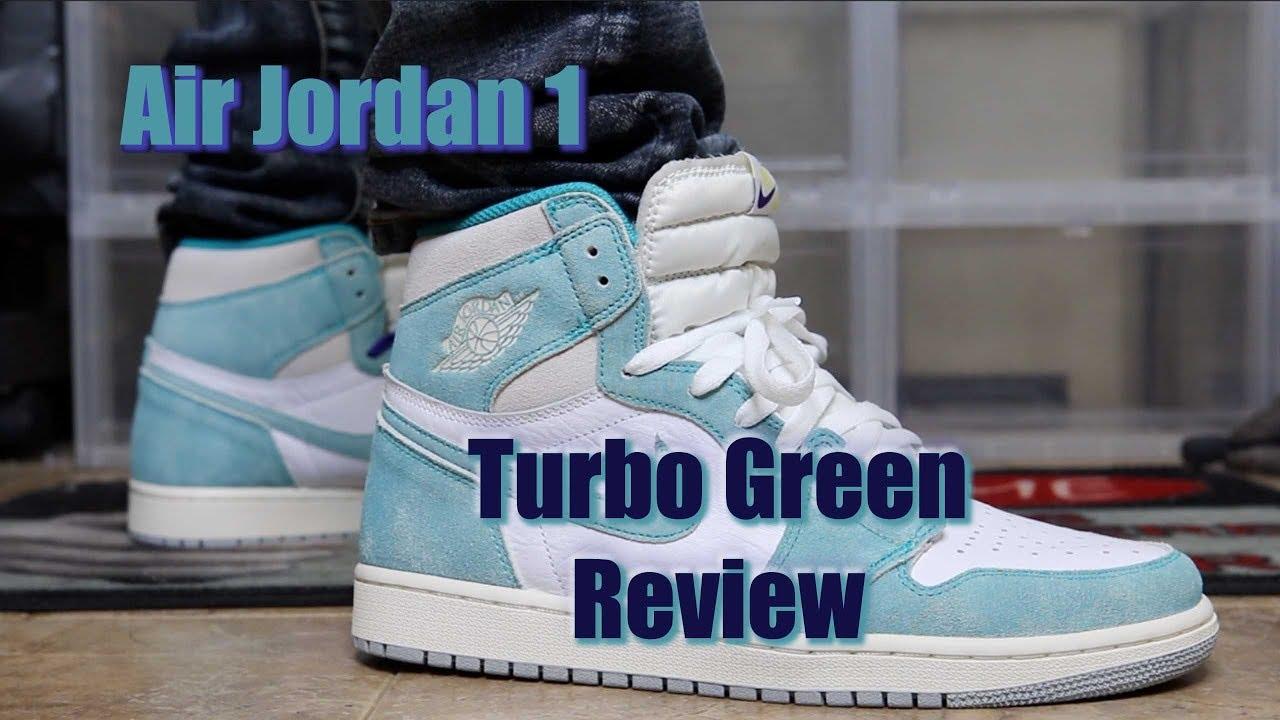 "66a4e22938bc57 Air Jordan 1 Retro High OG ""Turbo Green"" - YouTube"