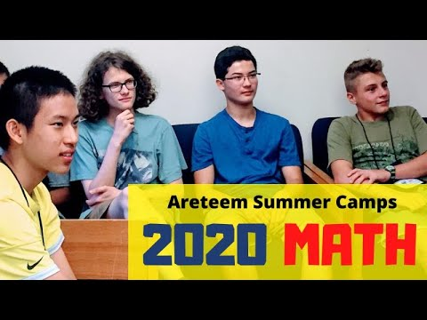 2020 Math Summer Camp | AMC AIME USAMO MATHCOUNTS | Bring MATH to Life | Areteem Institute